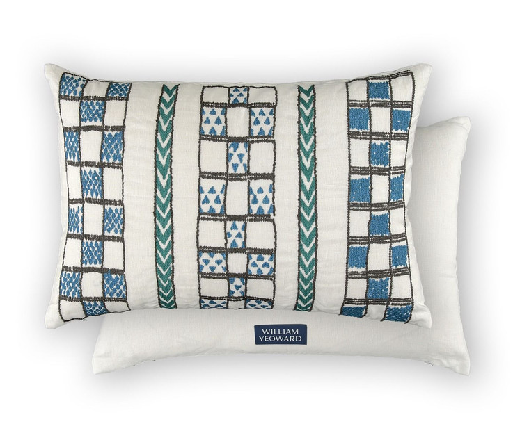 Mancora Peacock cushion