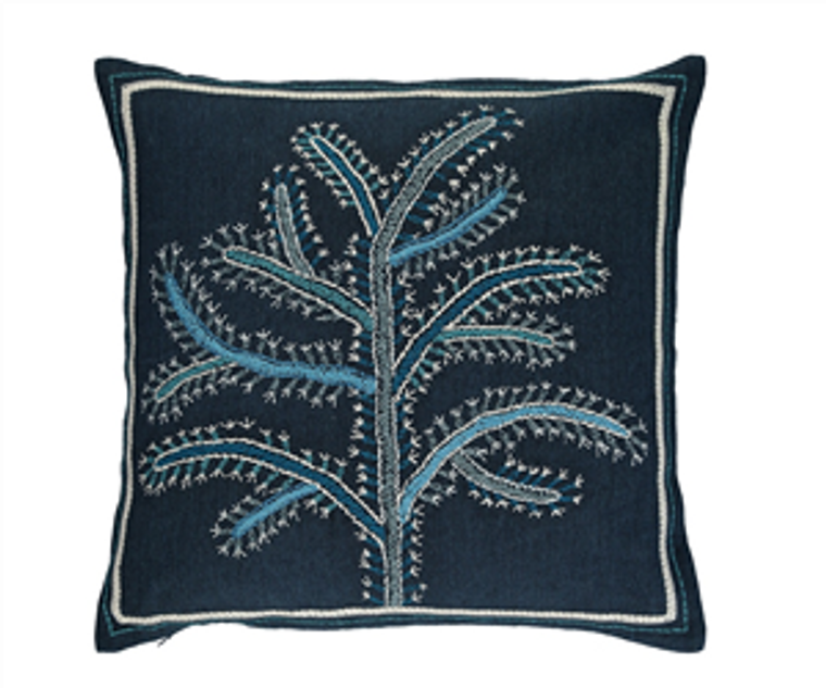 Fiorela Indigo cushion