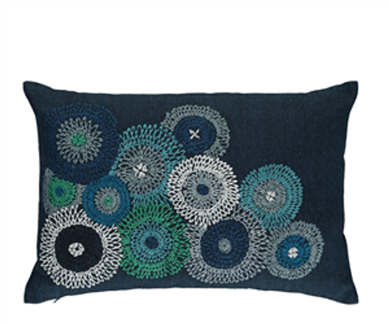 Eliana Indigo cushion