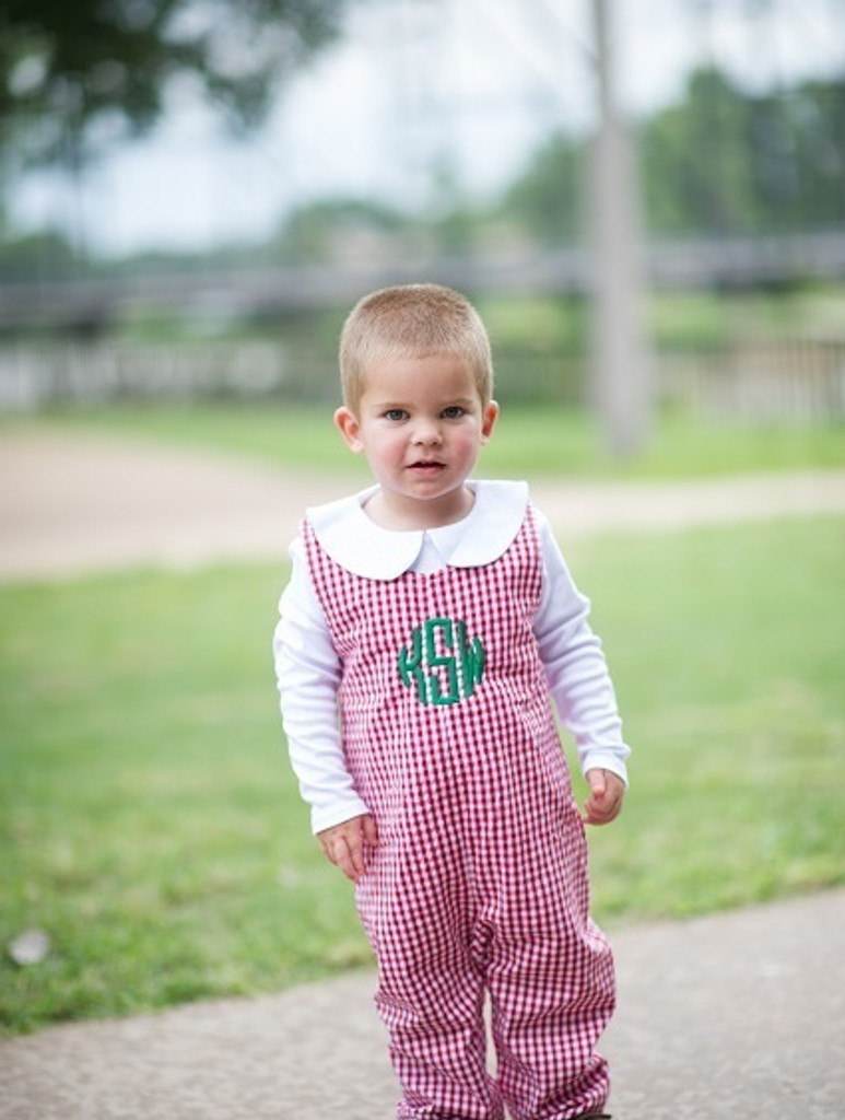 Red Gingham Longall