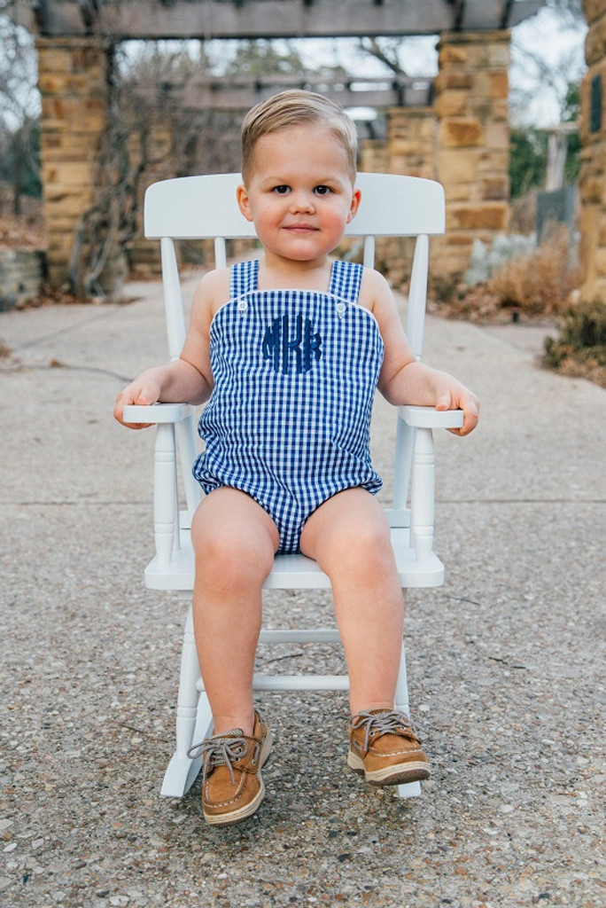 Navy Sunsuit