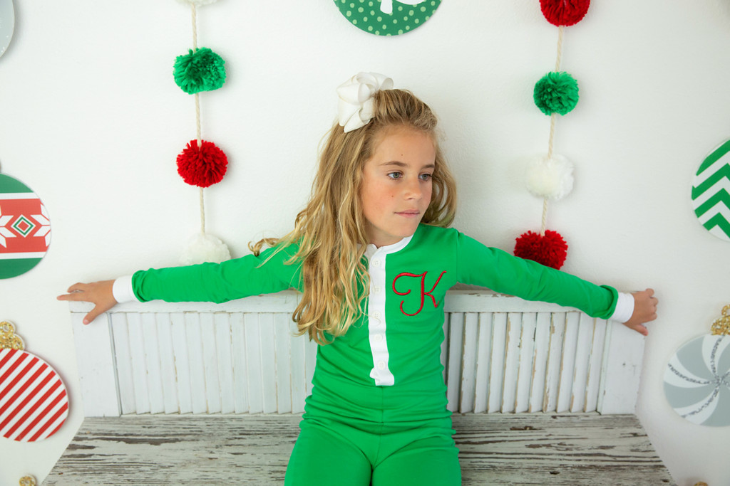 Unisex  Faux Butt Flap Christmas Jammies (Miller Collection)