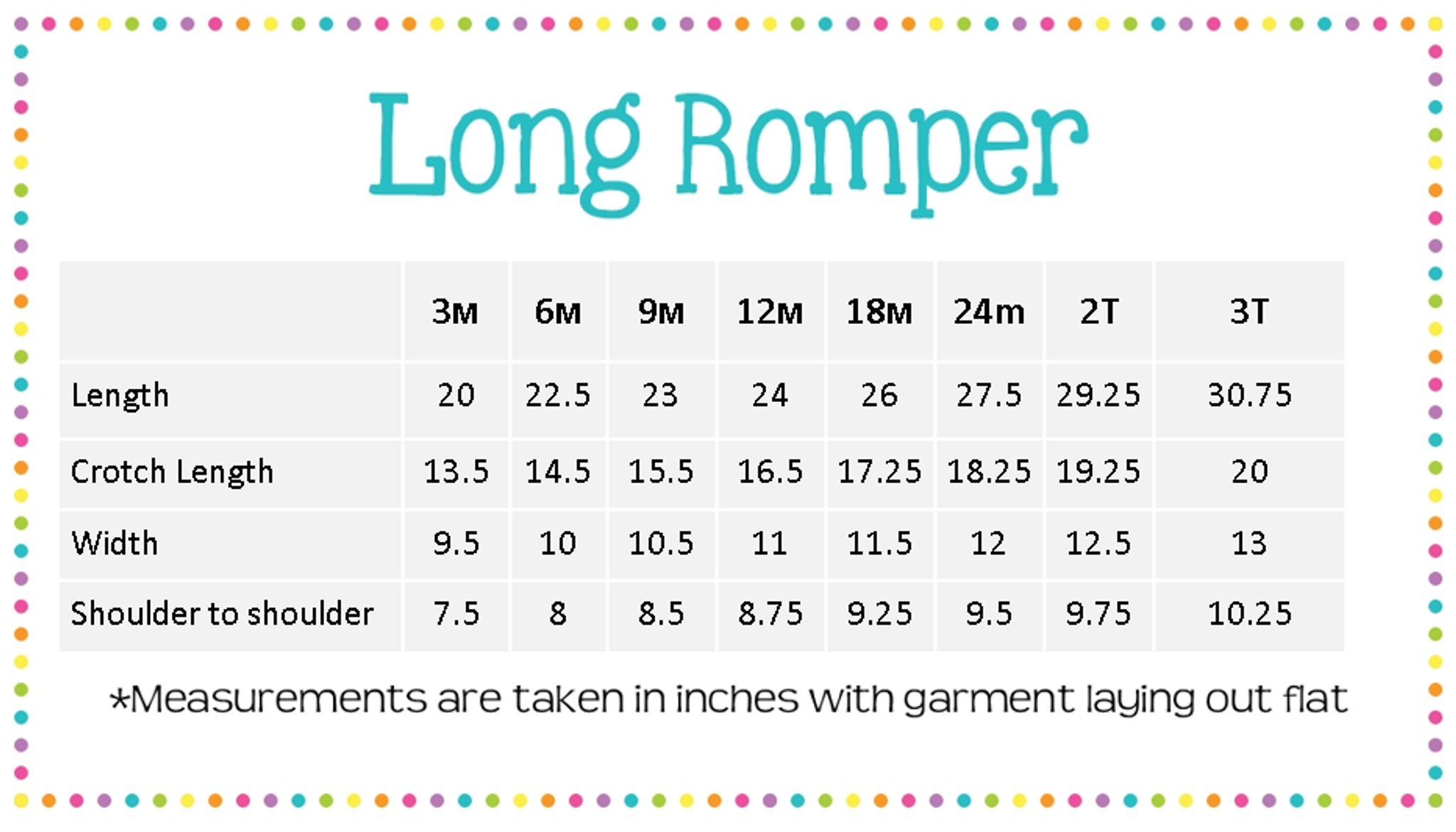 Boys Long Romper