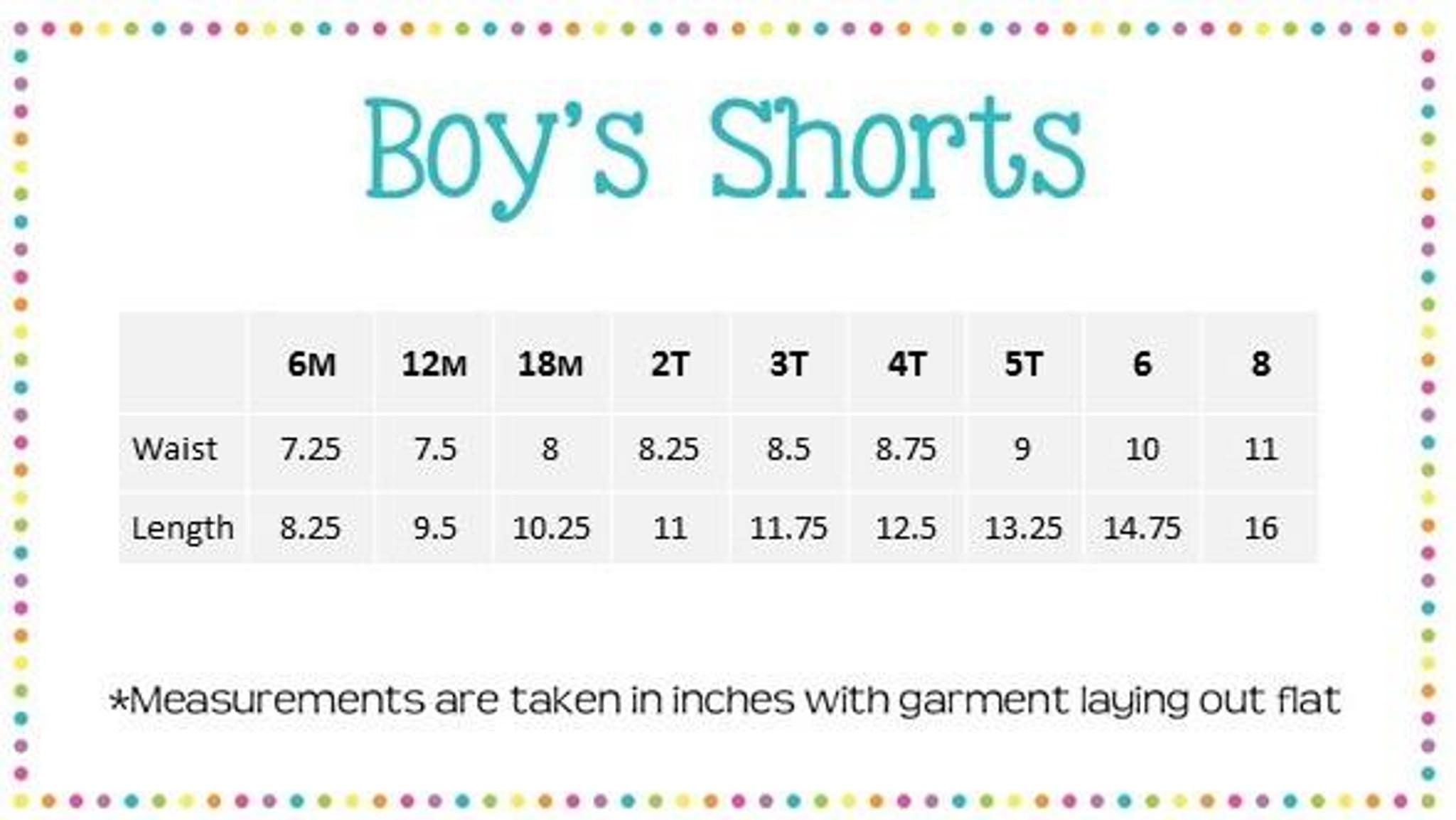 Boys Knit Shorts