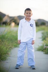 Light Blue Gingham Pants