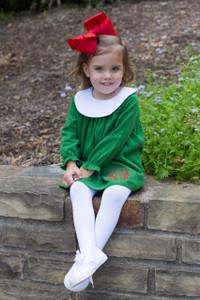 Green Bishop tunic dress