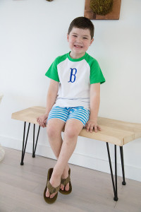 Short Sleeve Raglan Shirt