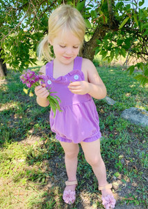 Girls Knit Sunsuit