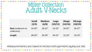 Women's V- Neck Tee - Miller Collection