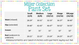 Women's Seersucker Lounge Pant Set - Miller Collection