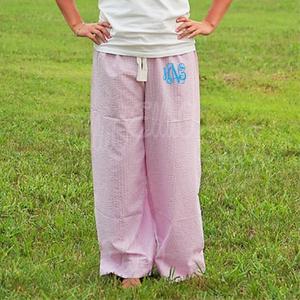Women's Seersucker Lounge Pants -Miller Collection