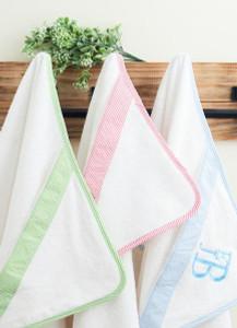 Seersucker Hooded Towel (Miller Collection) - PRE ORDER