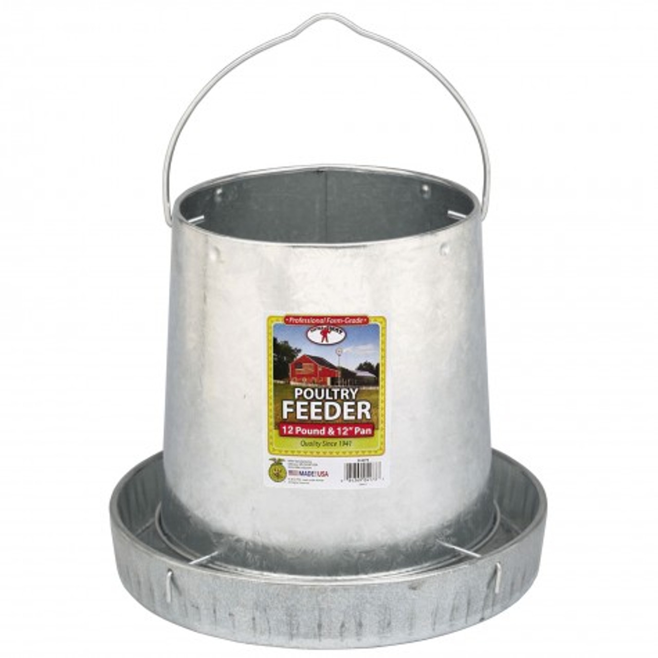 Little Giant - Hanging Metal Poultry Feeder - 12 lb.