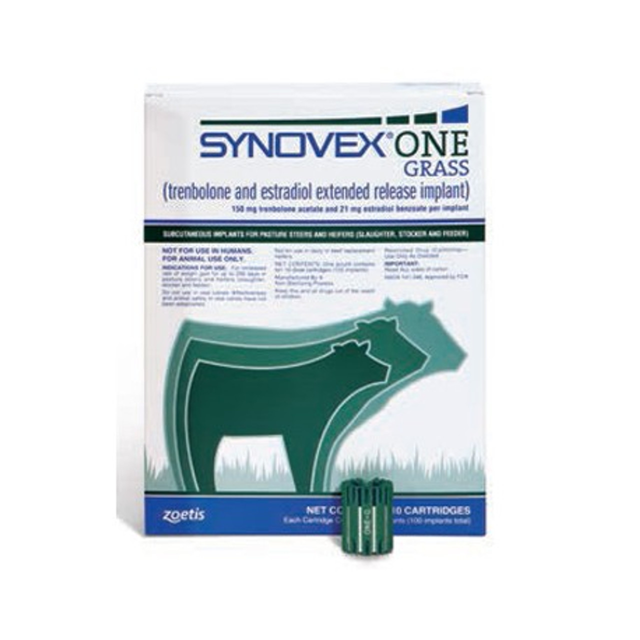 Synovex One Grass - 100 ds