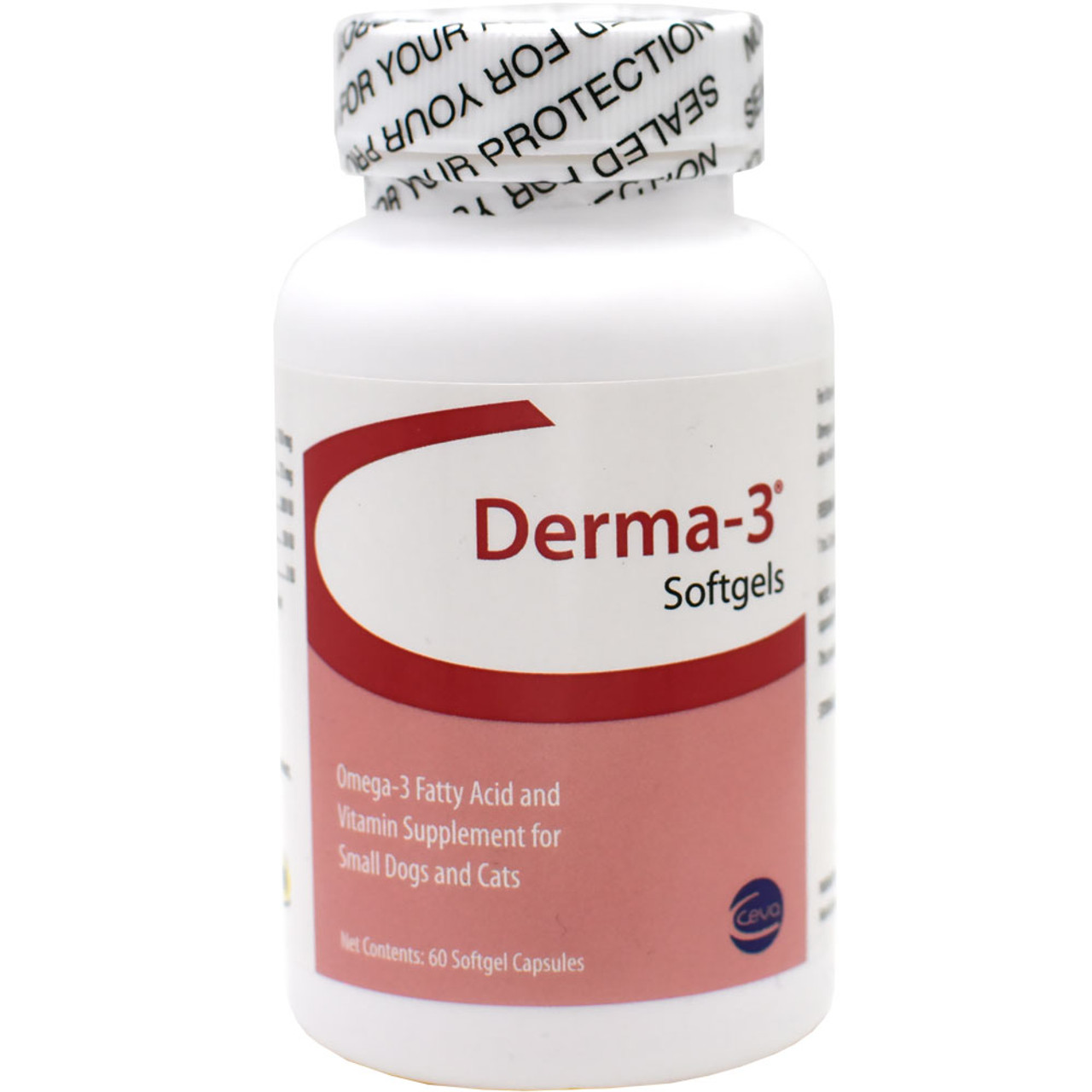 Derma -3 Softgels for Small Dogs and Cats