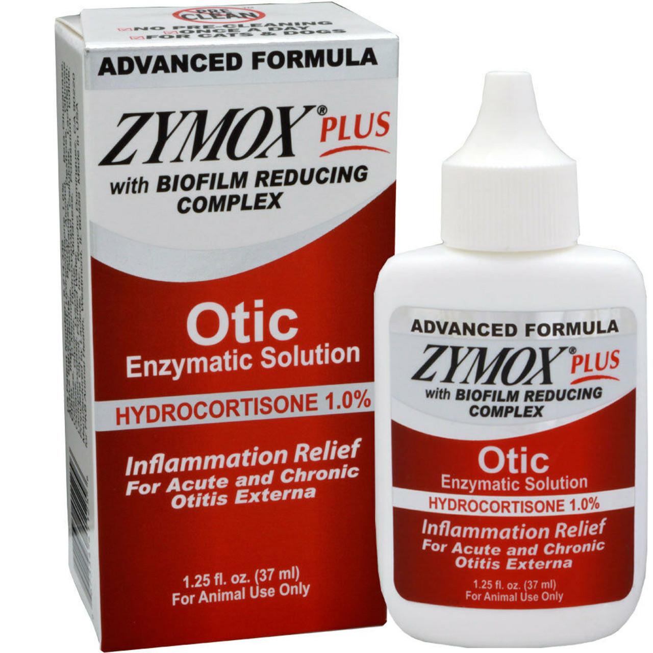 Zymox Plus Otic-HC - 1.25 oz