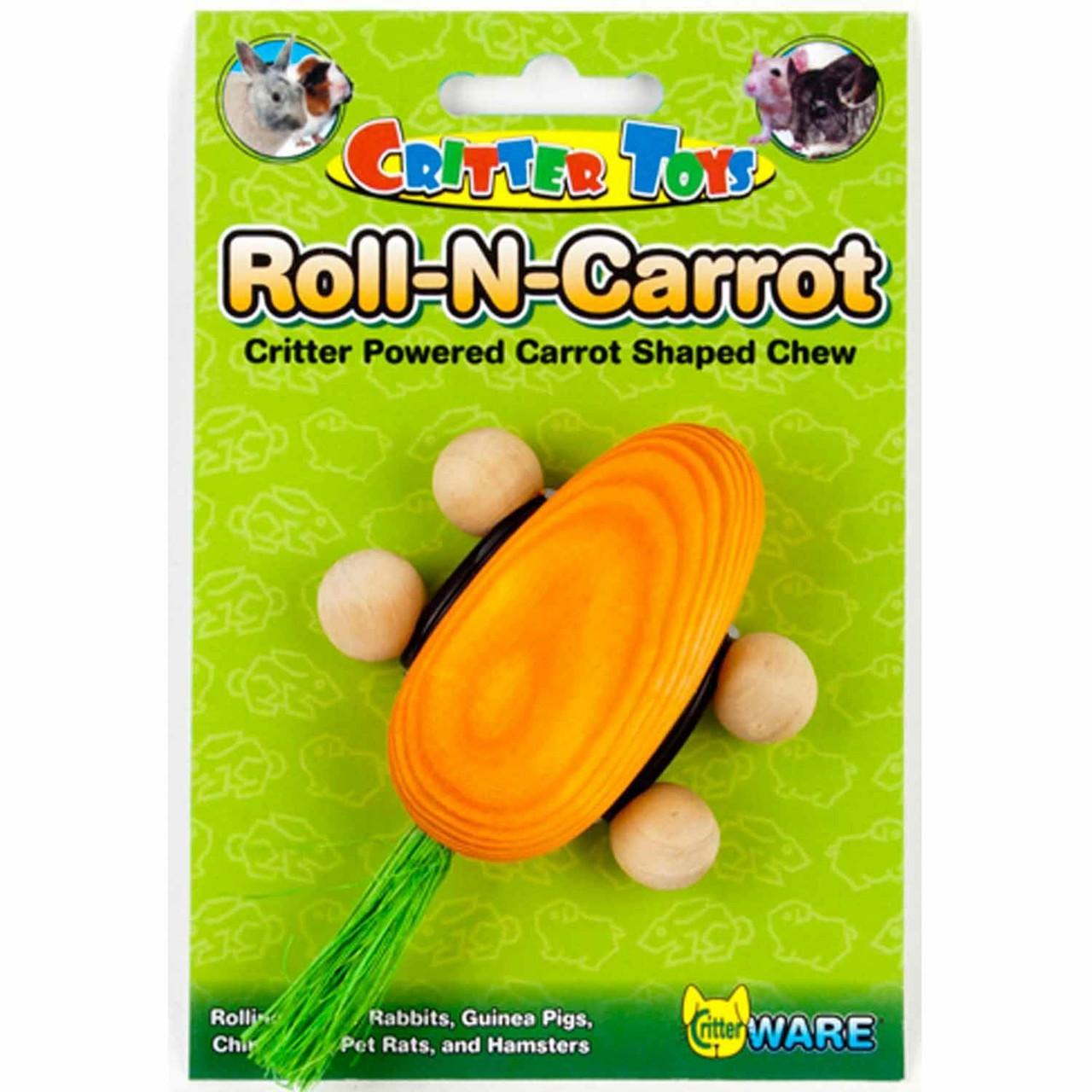 Critter Toys Roll - N - Carrot