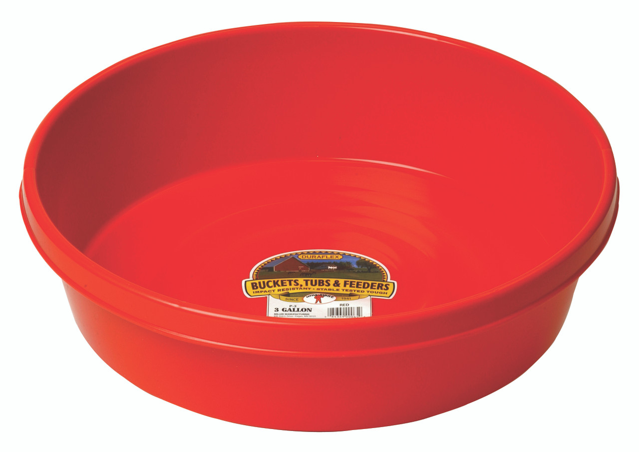 Little Giant Plastic Utility Pan 3 Gal.