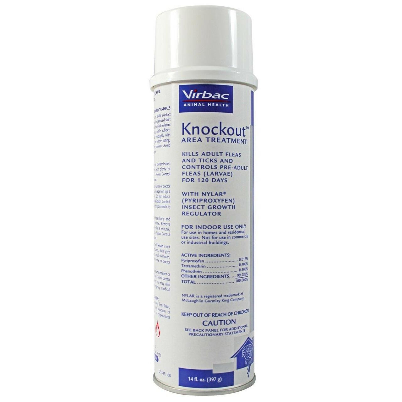 Knockout  Area Flea Treatment Spray 14 oz.