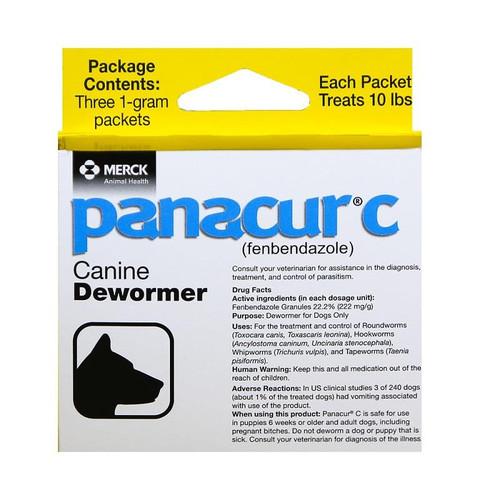 Panacur C 1gm Canine Dewormer