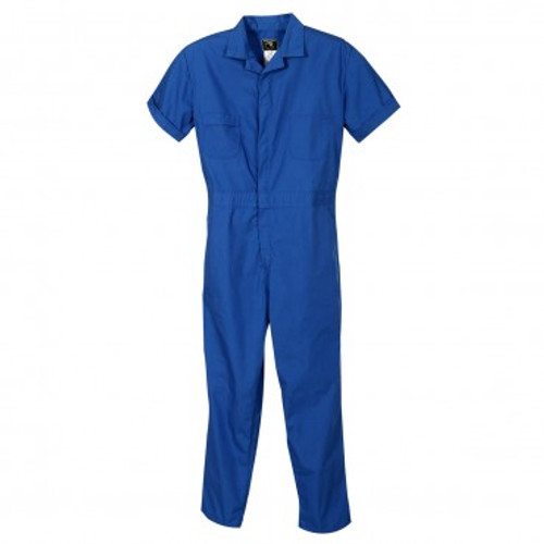 Short Sleeve Navy Coverall