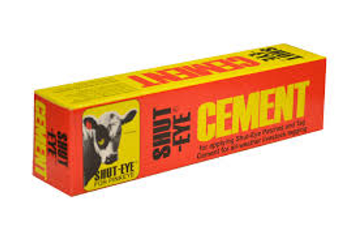 Shut-Eye Patch Cement