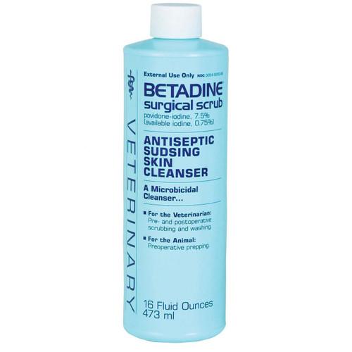Betadine Surgical Scrub - 16 OZ.