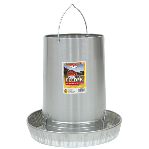Little Giant - Hanging Metal Poultry Feeder - 30lb.