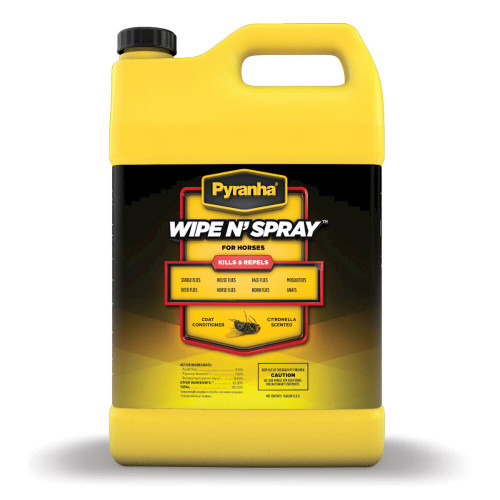 Pyranha Wipe N Spray - Gallon (FOB)