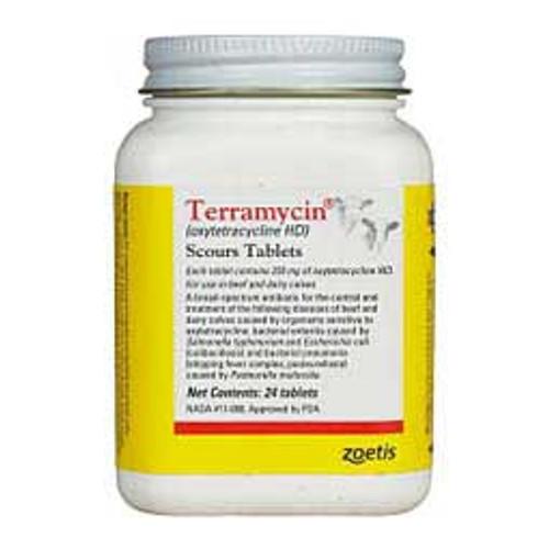 Terramycin Scours Tablets