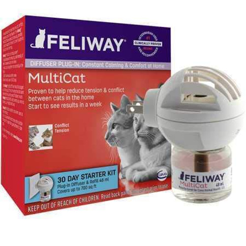 Feliway Multi-Cat Diffuser Starter Kit