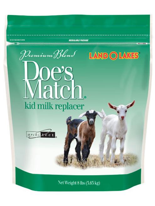 Doe's Match Milk Replacer 8lb.