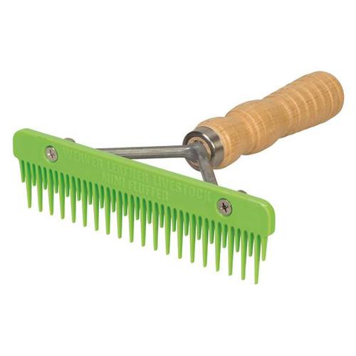 Weaver Mini Fluffer Comb Lime Green