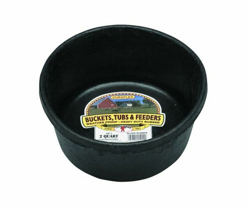 Little Giant Rubber Feed Pan 2qt.