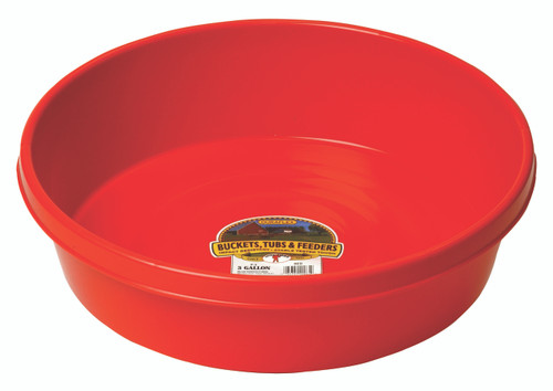 Little Giant Plastic Utility Pan 3 Gal. (FOB)