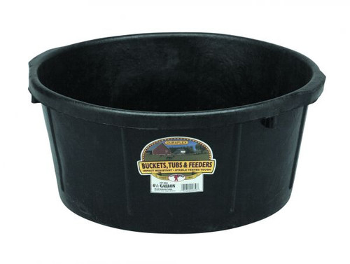 Little Giant All Purpose Rubber Tub 6.5 Gal. (FOB)