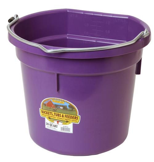 Little Giant Plastic Flat Back Bucket 20 Qt.  (FOB)