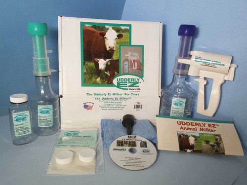 Udderly EZ -  Cow Milking Kit