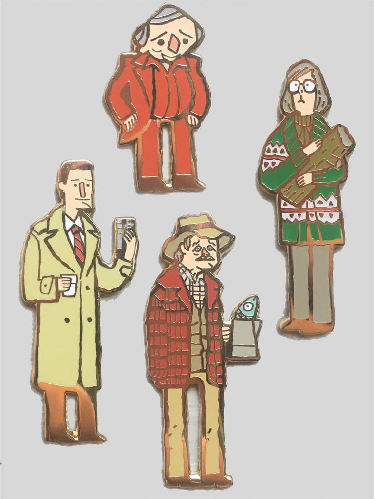 Great Northern Party Pin Pack: Featuring All Four Characters
