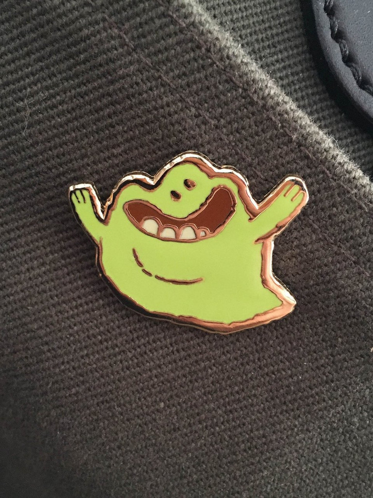 Sliming Fellow Enamel Pin