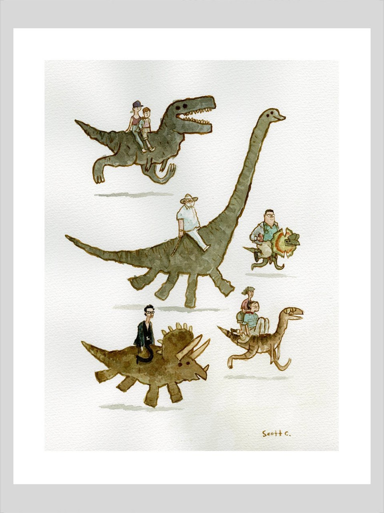 Jurassic Backs