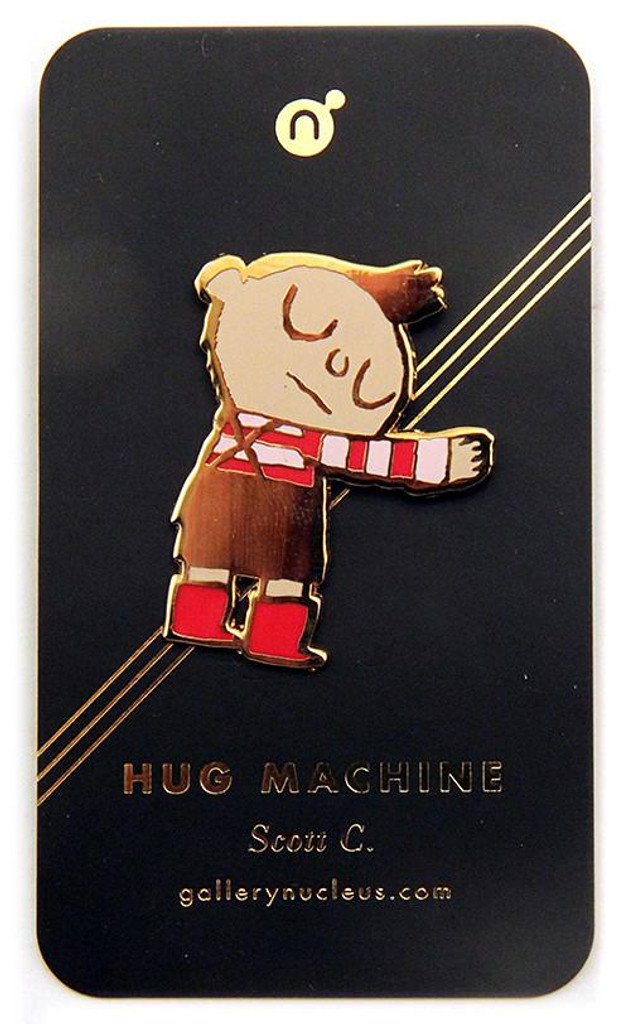 Hug Machine Enamel Pin