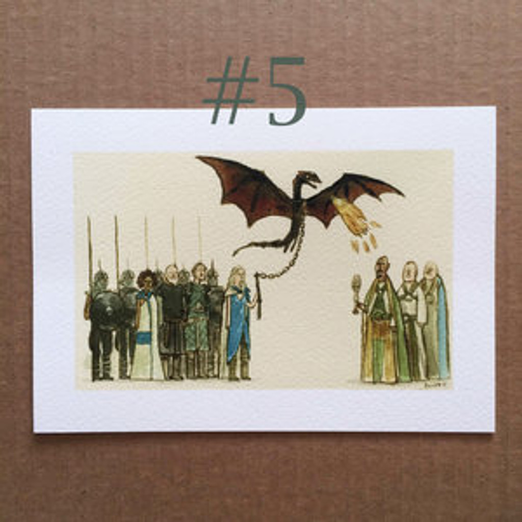Great Showdowns (GoT Edition) - SDCC Print #5