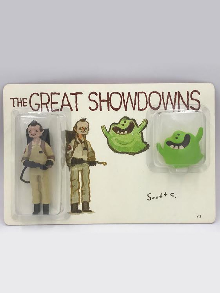 Great Showdowns Sliming Fellow With Friend