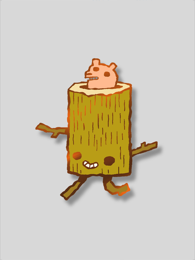 The Log Runner Pin
