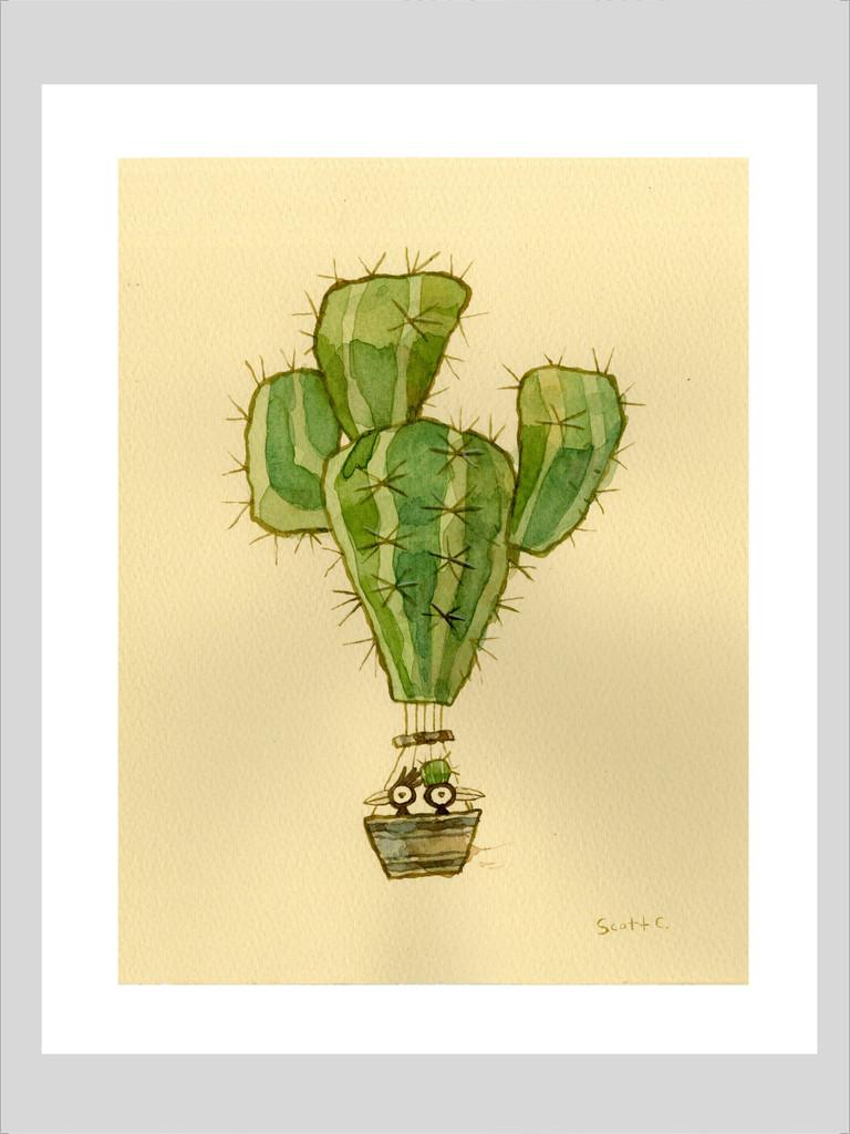 Desert Float: Print 2
