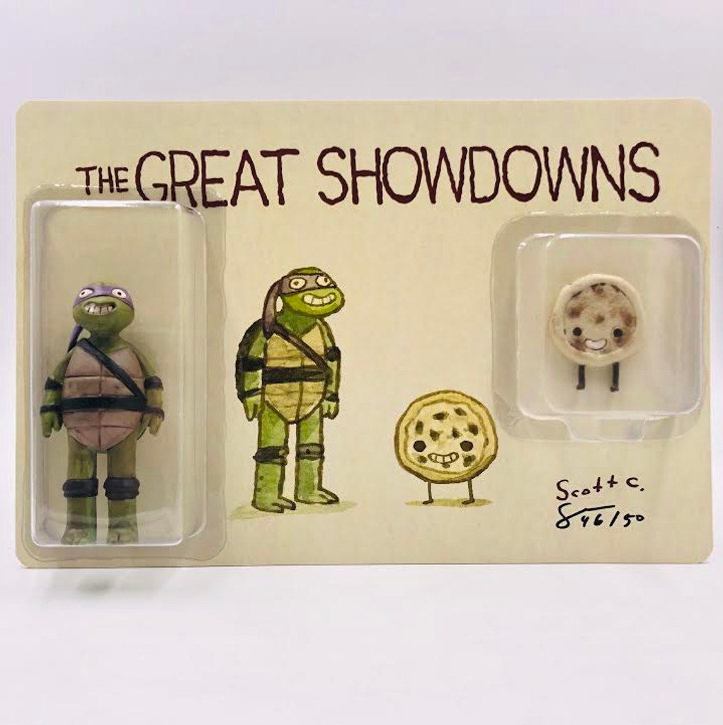 Great Showdowns Toy: The Purple Masked Turtle