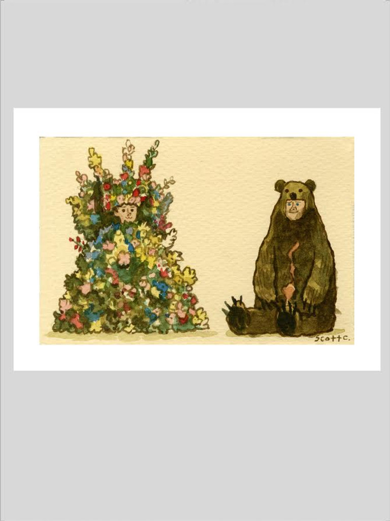 The Flowers and the Bear