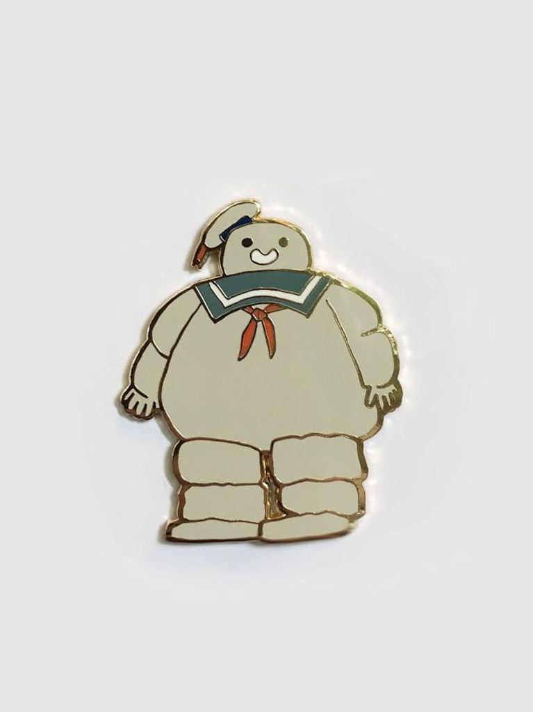 The Marshmallow Man Pin