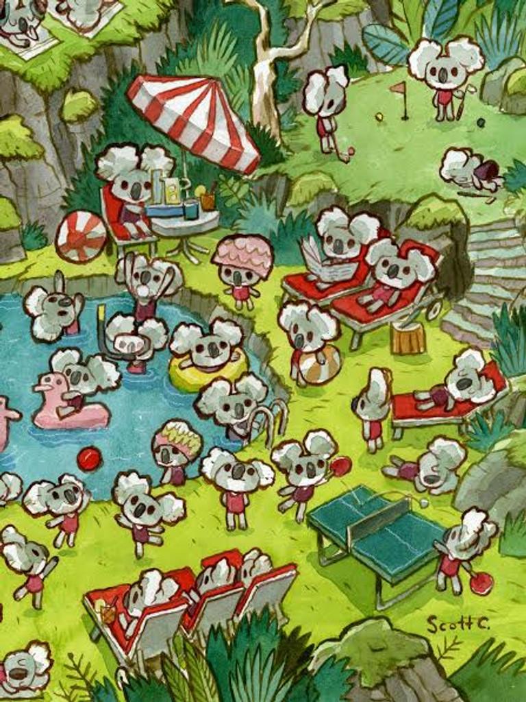 Koala Pool Party